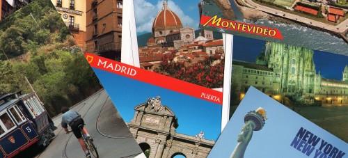 postales de sayaguenses por el mundo