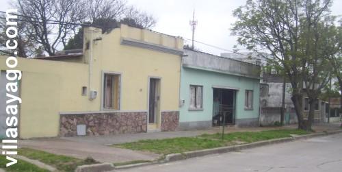 La casa-arco de los Erosa y al lado la de los Marichal ( © 2009 Tere Doutón )