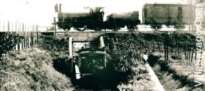 Una foto mas que histórica, años 30s 40s del siglo XX y el túnel en funcionamiento ( © Fabián Iglesias )