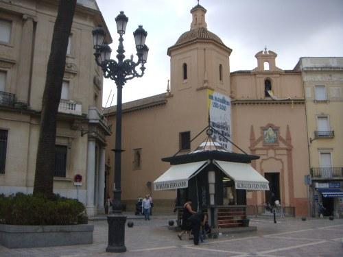 Plaza de las Monjas, Monasterio en Huelva